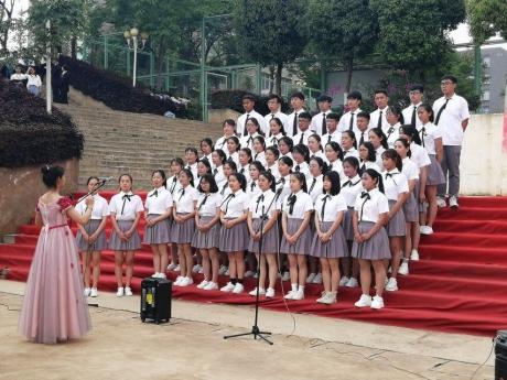 人文红歌赛 唱响新时代
