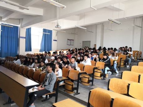 2019年人文学院学习五四讲话